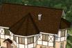 мягкая черепица Ruflex Briss Медный крыша